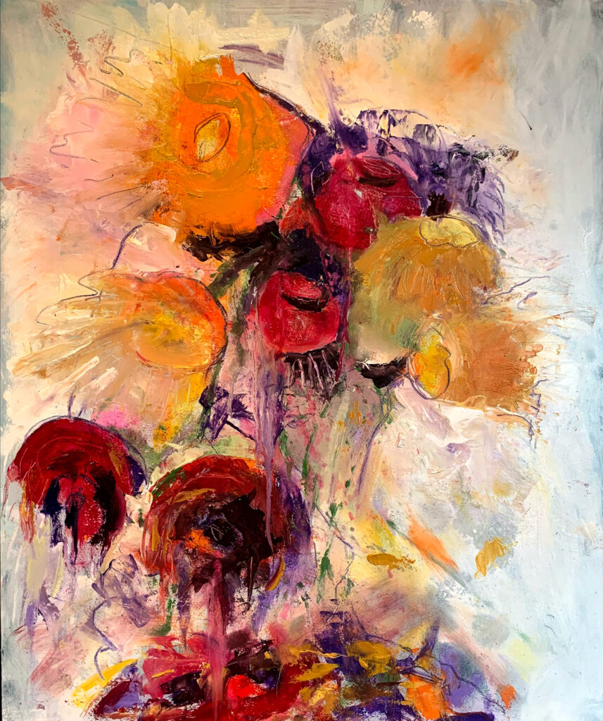 Flowers - abstract Impressionim