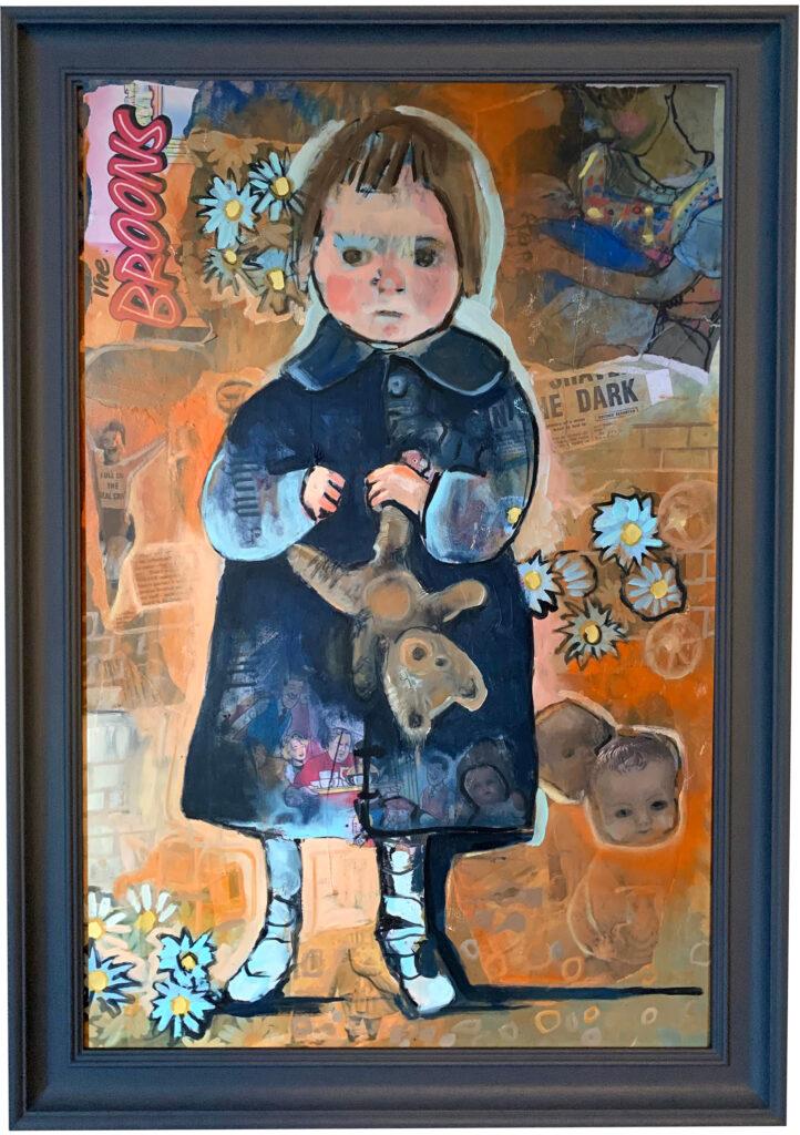 Self portrait as a child